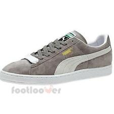 Shoes Puma Suede Classic + 352634 66 sneakers casual vintage moda man Grey