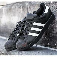 Shoes Adidas Superstar Foundation B27140 Story Man Black white sneakers fashion