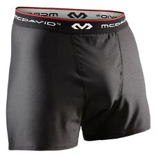 McDavid 9252R Men's Sport Boxer Briefs Underwear Black / Loose Fit / NEW