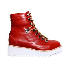 Jeffrey Campbell Badlands Boots in Red
