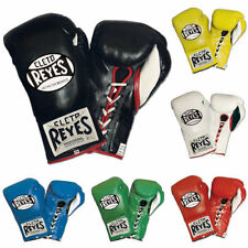 """CLETO REYES PRO-FIGHT BOXING GLOVES W/FREE RIVAL 180"""" MEXICAN STYLE HAND WRAPS"""
