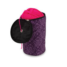 Knitting Yarn Holder Wool Storage Bag - Imperial Purple
