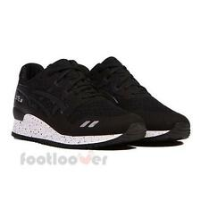 Shoes Asics Gel Lyte III H5Y0N 9090 man Black Fashion Moda sneakers Limited
