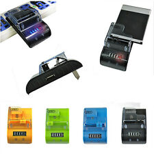 Universal LCD Mobile Cell Phone Camera Wall Travel Battery Charger with USB Port