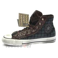 Shoes Converse All Star CT As Hi Canvas Textile 1C14FA05 Blue Tartan LTD Fashion