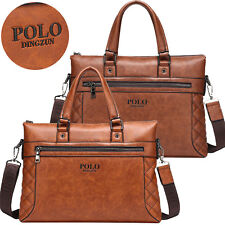 Messenger bag Tote Purse Cowhide leather Men Handbag Laptop Briefcase