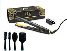 ghd V Hair Straightener Latest MK5 GOLD CLASSIC/STANDARD + ghd Hair Brush