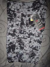 UNDER ARMOUR HEATGEAR GOLF SHORTS DIGITAL CAMO CARGO BOYS S M L XL NWT $44.99