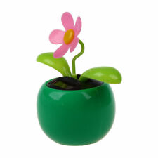 Flip Flap Solar Powered Flower Flowerpot Swing Dancing Toy Novelty  Ornament CP