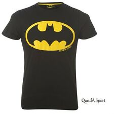 Official Licensed DC Batman Merchandise Mens Adult Black T-Shirt