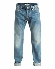 NEW QUIKSILVER™  Mens High Force Elder Relaxed Fit Denim Jean Denim Jeans Trouse