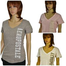 Aeropostale Womens Juniors V-Neck Short Sleeve Graphic T-shirt New w/tags $24.50