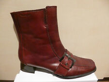 Ladies Boots Ankle Boots Winter Boots red leather new