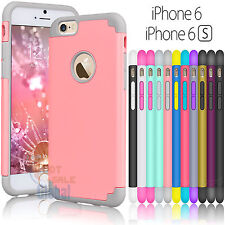"""TPU Rubber Ultra Thin Protective Hard Case Cover For iPhone 6 6S 4.7"""" / Plus +"""