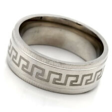 Fashion Stainless Steel Ring No Stone Mens Womens Band Ring Size 7 8 9 10 11 12