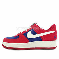 Nike Air Force 1 [488298-626] NSW Casual Gym Red/Sail-Deep Royal Blue