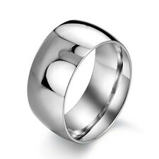 mens fashion vintage stainless steel band ring big wholesale size 8 9 10 11 12