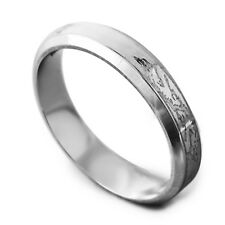 Vogue Men's Unisex White Gold Filled Dragon Promise Love Band Ring Size 8-11