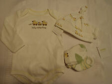 GYMBOREE Brand New Baby 6-12 Month Toy Duck Long Sleeve Bodysuit Hat Socks NWT