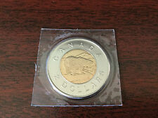 2007 twoonie toonie $2 dollar canada coin unc sealedfrom the mint from set pl