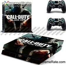 Call Of Duty Black Ops Sticker Skin Vinyl Decal For PS4 Console Controlled UK