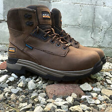 """Ariat Men's Mastergrip 6"""" Waterproof Lace Up Work Boots Composite Toe 10017422"""