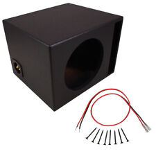 "Car Audio Single 15"" Ported Subwoofer Box Coated Mdf Bass Speaker Sub Enclosure"