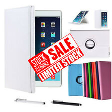 For Apple iPad Air 1 / iPad 5 Leather 360 Degree Rotating Smart Stand Case Cover