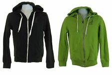 Aeropostale Mens Black or Green bird logo hoodie Full Zip Hooded Sweatshirt New