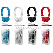 Adjustable Over Ear Earphone Headphone Stereo For Ipod Iphone Mp3 Mp4 Pc 3.5 mm