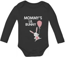 Mommy's Lil' Bunny - Very Cute Baby Grow Vest Easter Baby Long Sleeve Onesie