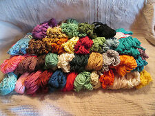Vintage Coats and Clark Rug Yarn - 37 Different Colors - rayon/cotton