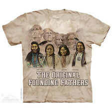 The Mountain Original Founding Fathers Native American  Adult Men T-Shirt S-2XL
