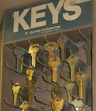 Key Blanks Curtis, National, Ilco, Star