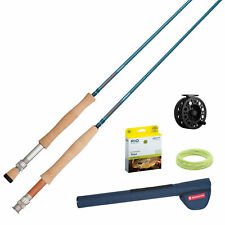 Redington Crosswater™ Rod & Reel Combo/Outfit 890 in 2 or 4 Piece