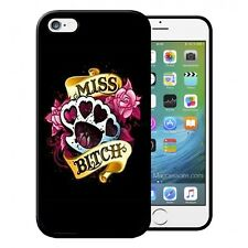 Coque iPhone et Samsung Miss Bitch Fleurs Flowers Roses