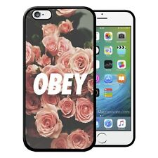Coque iPhone et Samsung Obey Fleurs Flowers Roses Vintage Swag Luxe Dope