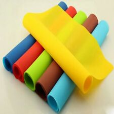 Silicone Kitchen Pastry Liner Baking Tray Oven Bakeware Rolling Sheet Mat H78