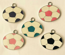 Lot Mixed Football Metal Charm Pendants DIY Jewelry Making Party Favors E-01