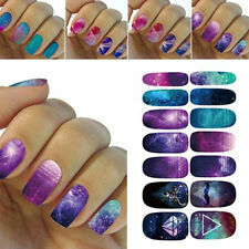 Fashion 3D DIY Water Transfer Nail Art Wraps Stickers Decals Polish Tips Decors