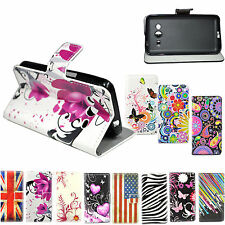 Flip Card Holder Leather Wallet Case Cover For Samsung Galaxy Core 2 II SM-G355H