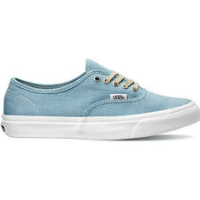Vans Authentic Slim Womens Footwear Shoe - Chambray Blue All Sizes