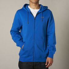 Fox Racing Legacy Mens Hoody Zip - Blue All Sizes