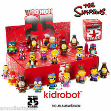 KIDROBOT - THE SIMPSONS 25th ANNIVERSARY MINI SERIES - FIGURINE SELECT - NEW