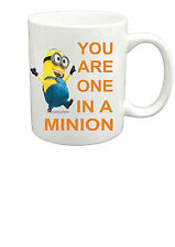 Despicable Me You Are One In A Minion Mug Novelty Gift Mugs