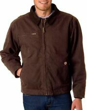 L@@K Dri Duck 5087 Jacket Coat Mens Canvas Outlaw Brown All Sizes Tobacco NEW