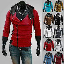 Stylish Men Slim Fit Long Sleeve Casual Hoodies Outwear Coat Jacket T-shirt