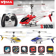 SYMA S107G 3.5 CHANNEL RC HELICOPTER+GYRO REMOTE CONTROL MOTION SENSOR TOY GIFT