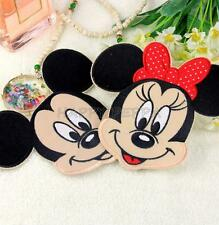 Mickey Minnie Mouse Embroidered Applique Iron On Patch Sew Cloth DIY Accessories