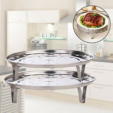 Steamer Rack Insert Stock Pot Steaming Tray Stand Cookware Tool Pleasing